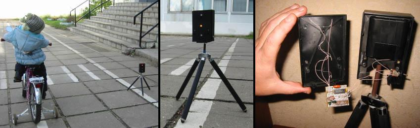 Светофор на двух микросхемах